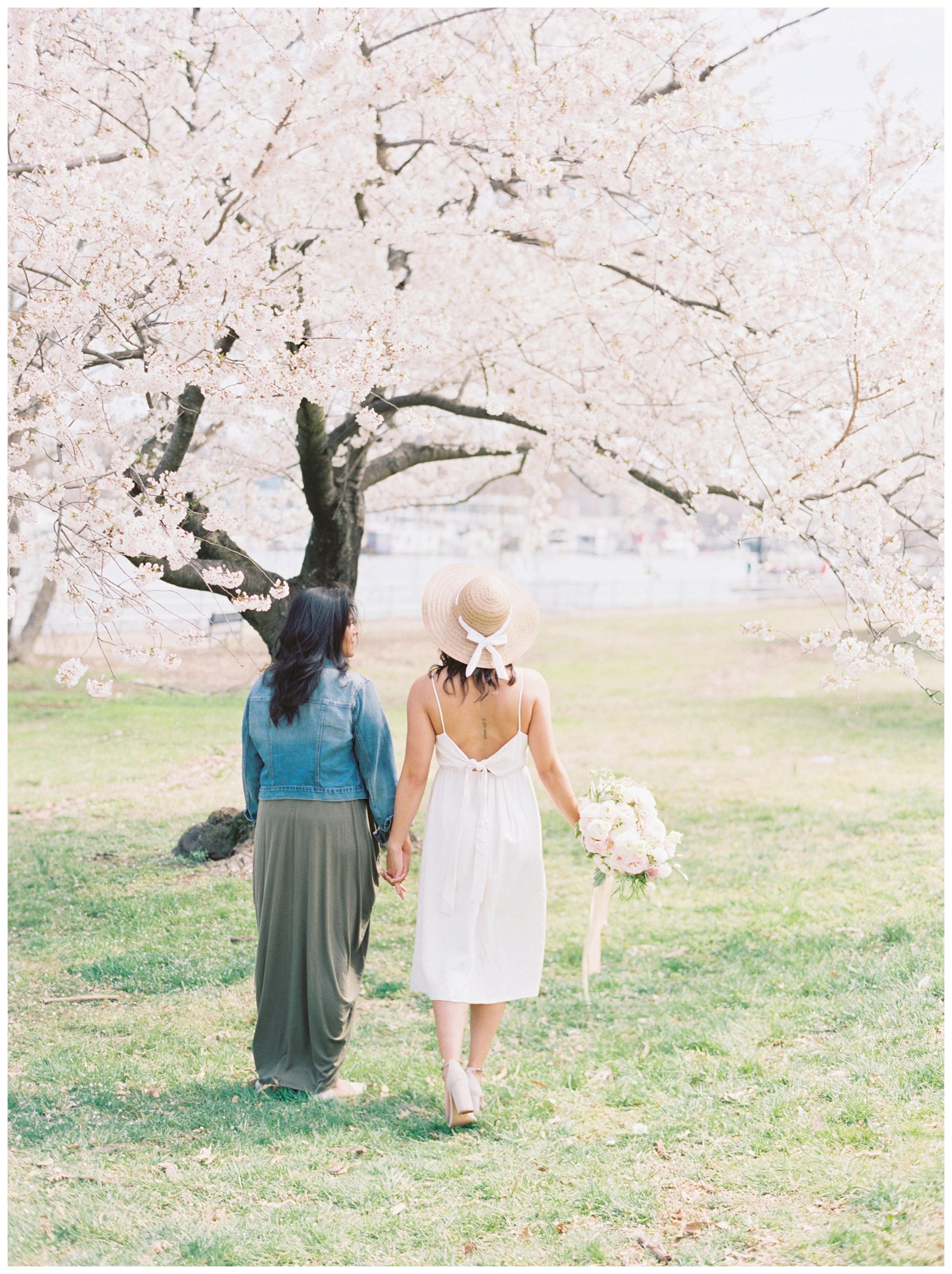 Same Sex DC Engagement | District of Columbia Cherry Blossom Engagement Kir Tuben_0014.jpg