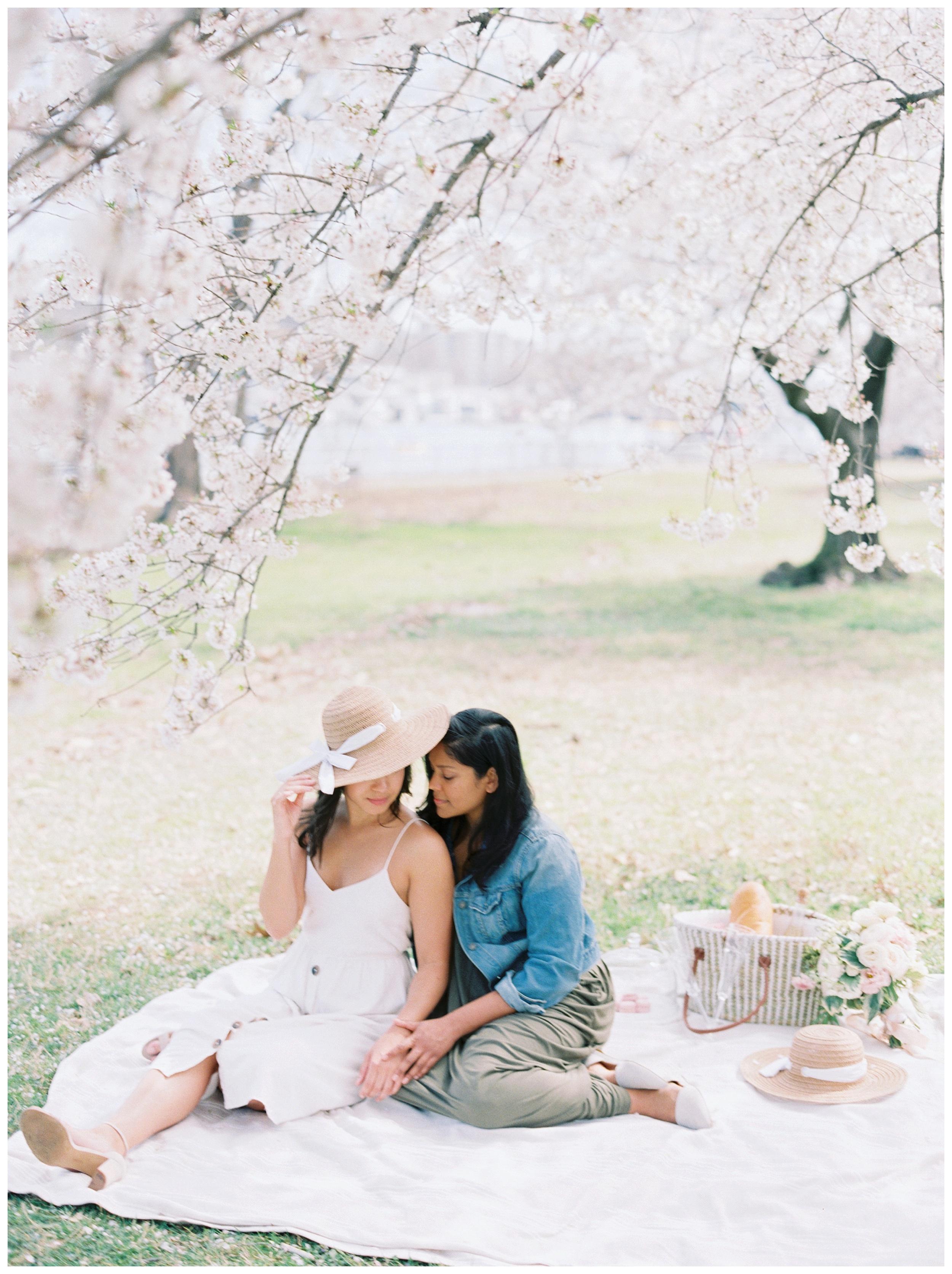 Same Sex DC Engagement | District of Columbia Cherry Blossom Engagement Kir Tuben_0016.jpg