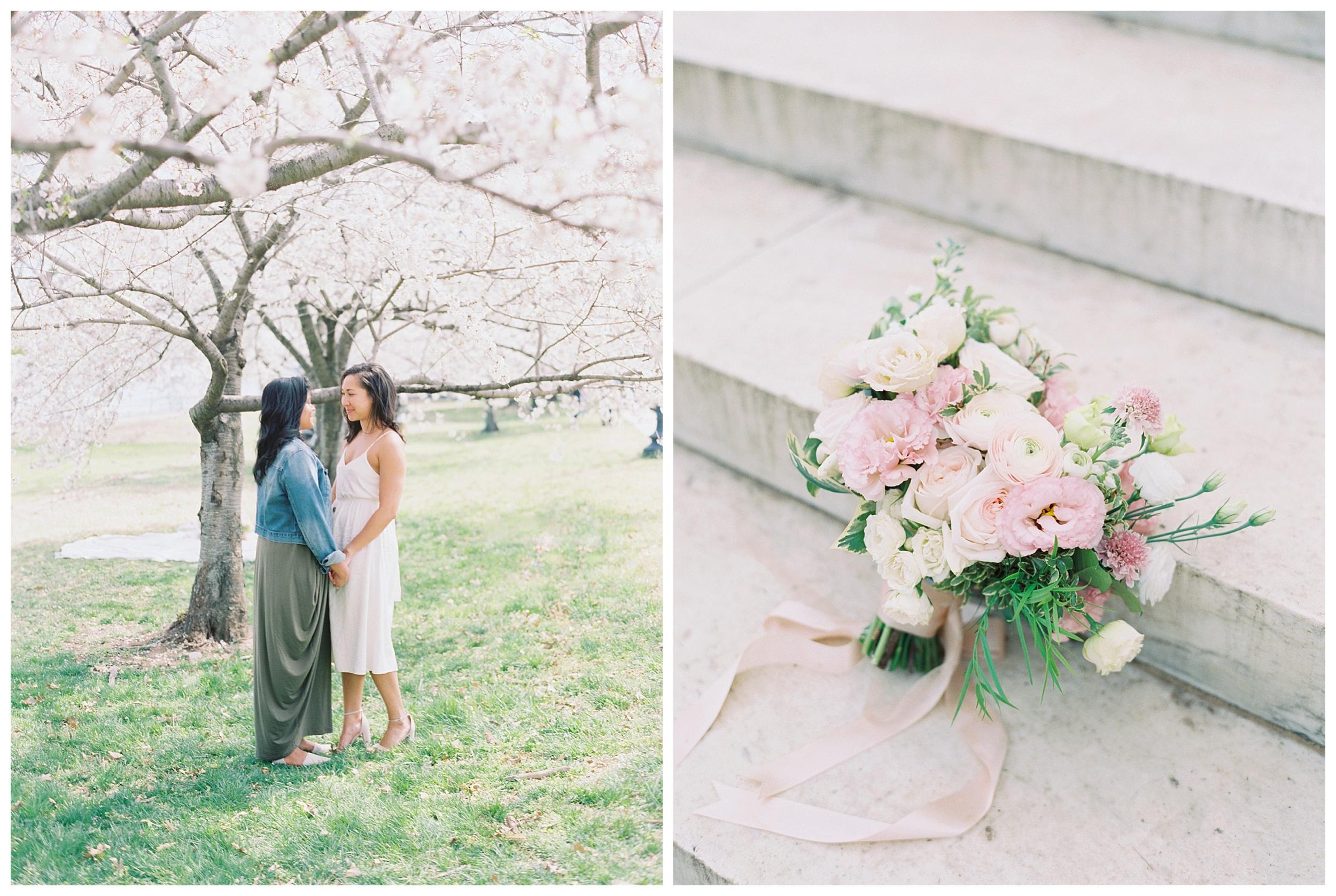 Same Sex DC Engagement | District of Columbia Cherry Blossom Engagement Kir Tuben_0019.jpg