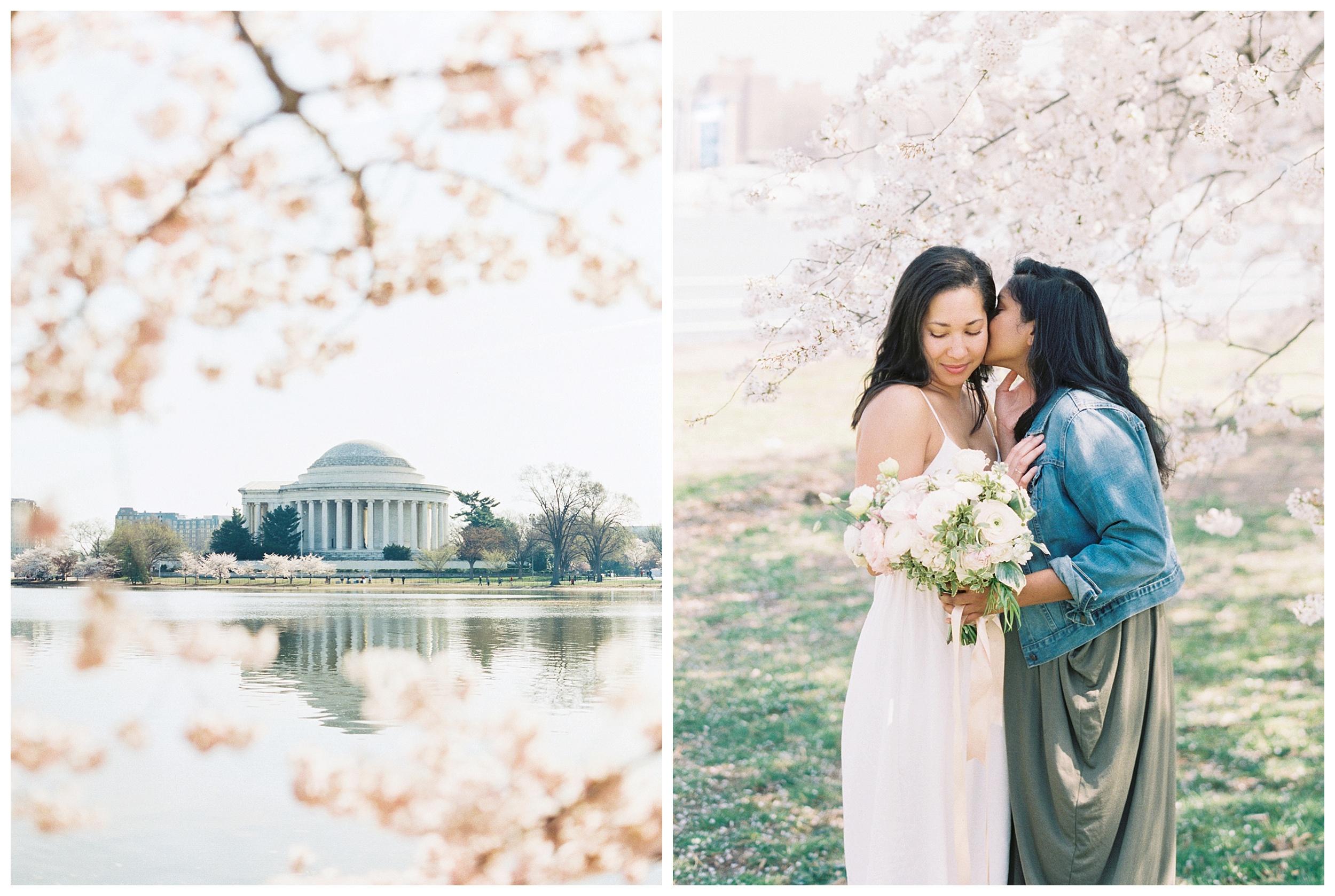 Same Sex DC Engagement | District of Columbia Cherry Blossom Engagement Kir Tuben_0023.jpg