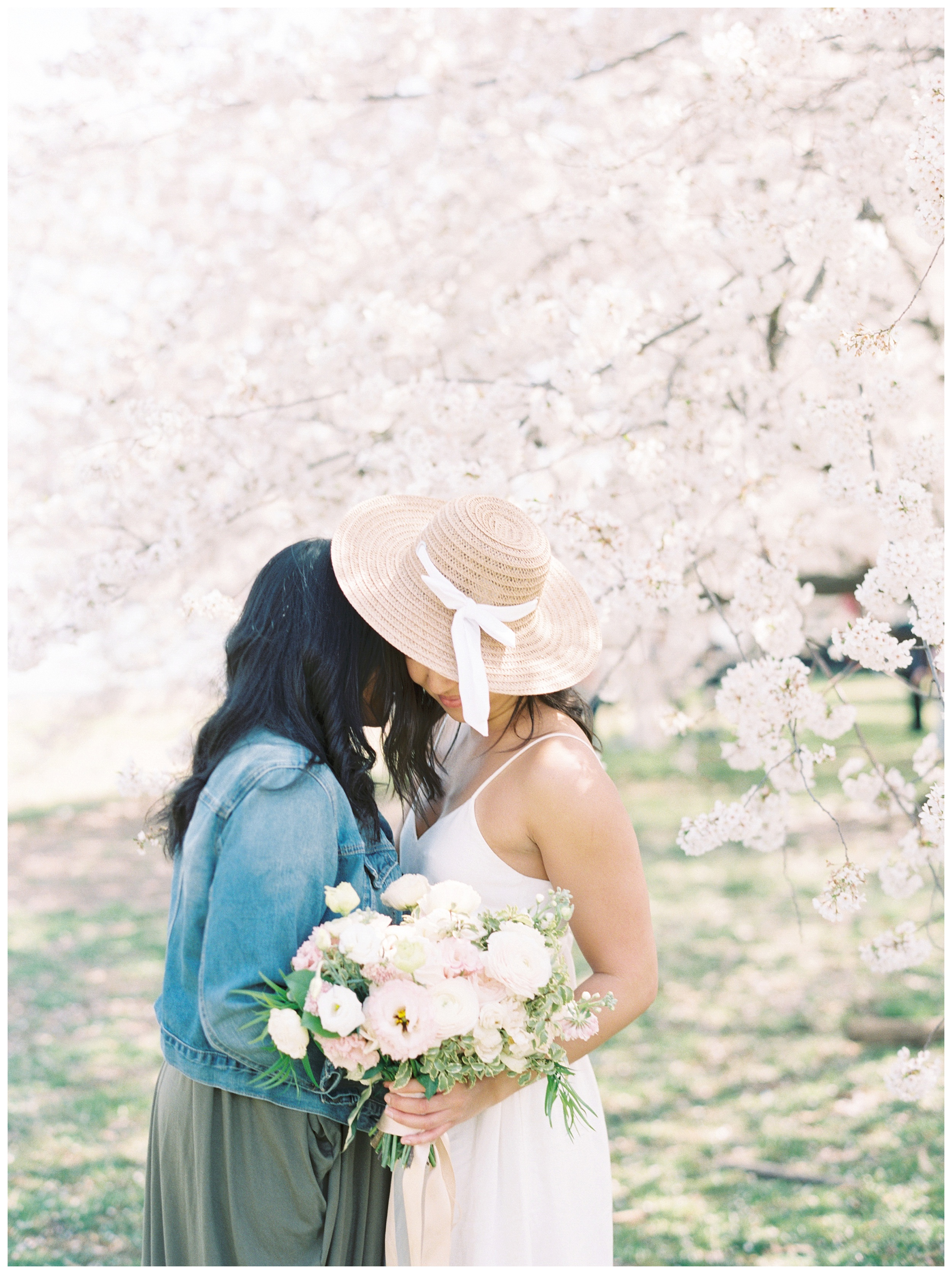 Same Sex DC Engagement | District of Columbia Cherry Blossom Engagement Kir Tuben_0022.jpg