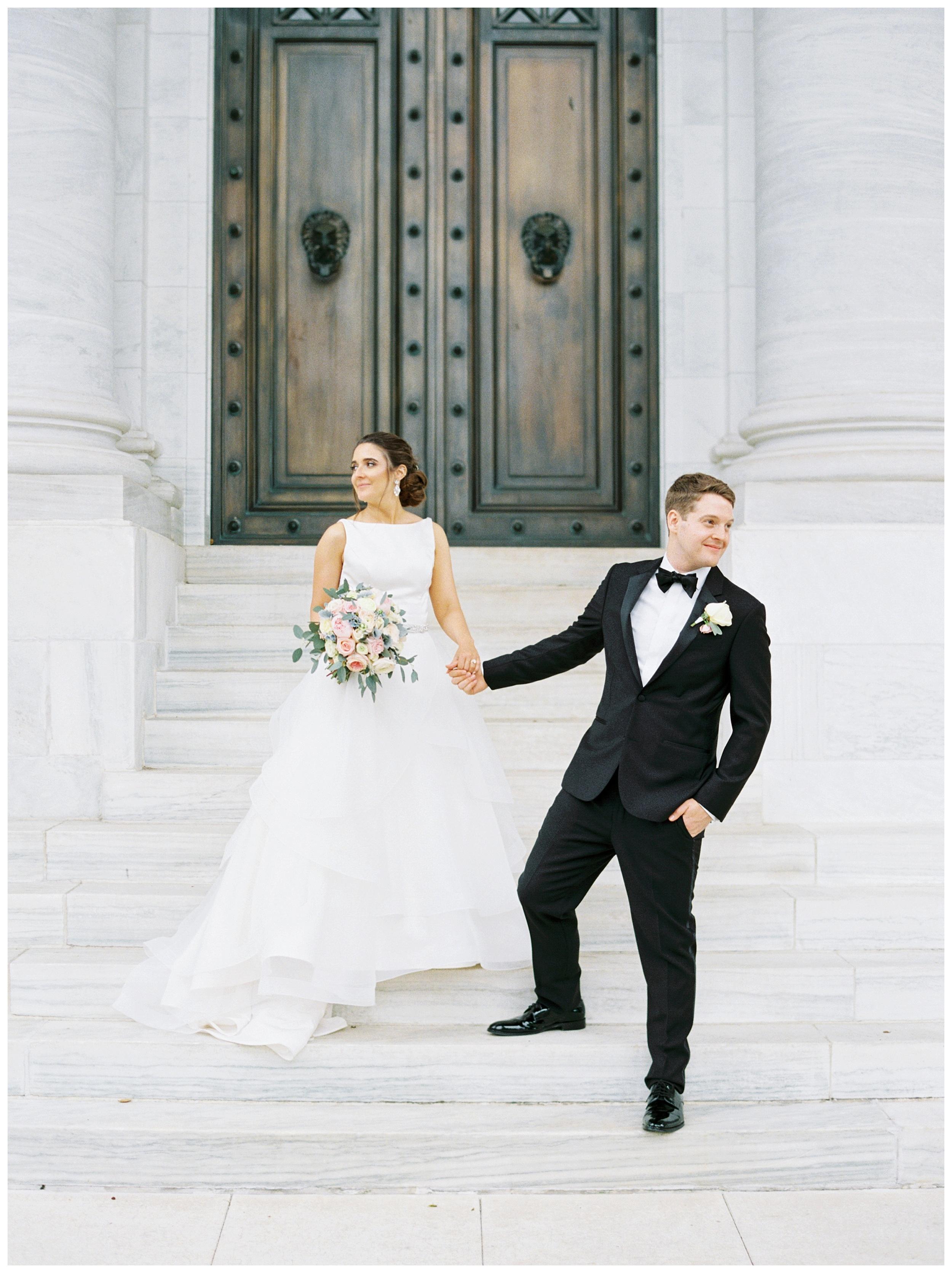 DAR Constitution Hall Wedding Wedding | Daughters of the American Revolution Wedding | District of Columbia Film Wedding Photographer Kir Tuben_0111.jpg