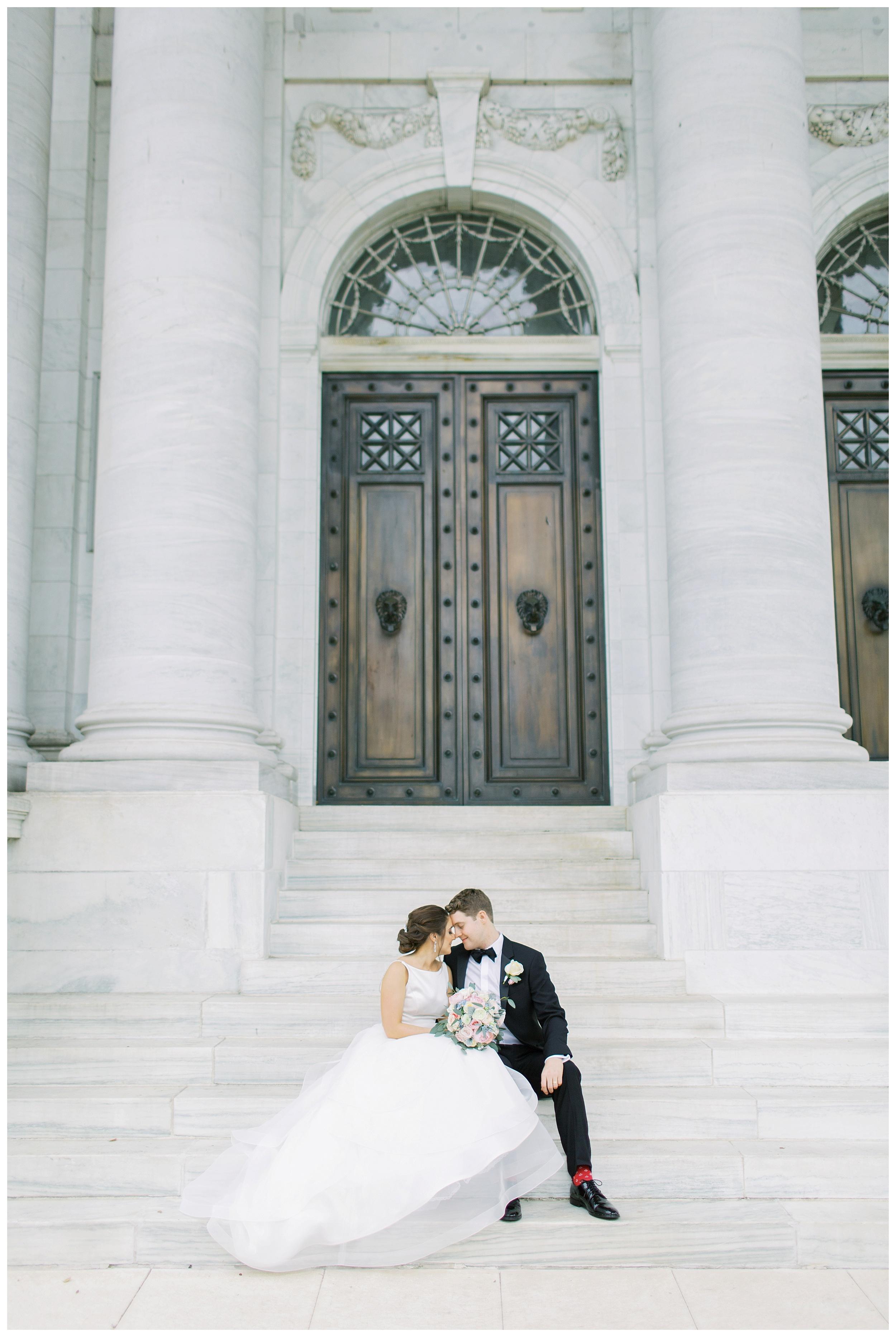 DAR Constitution Hall Wedding Wedding | Daughters of the American Revolution Wedding | District of Columbia Film Wedding Photographer Kir Tuben_0119.jpg