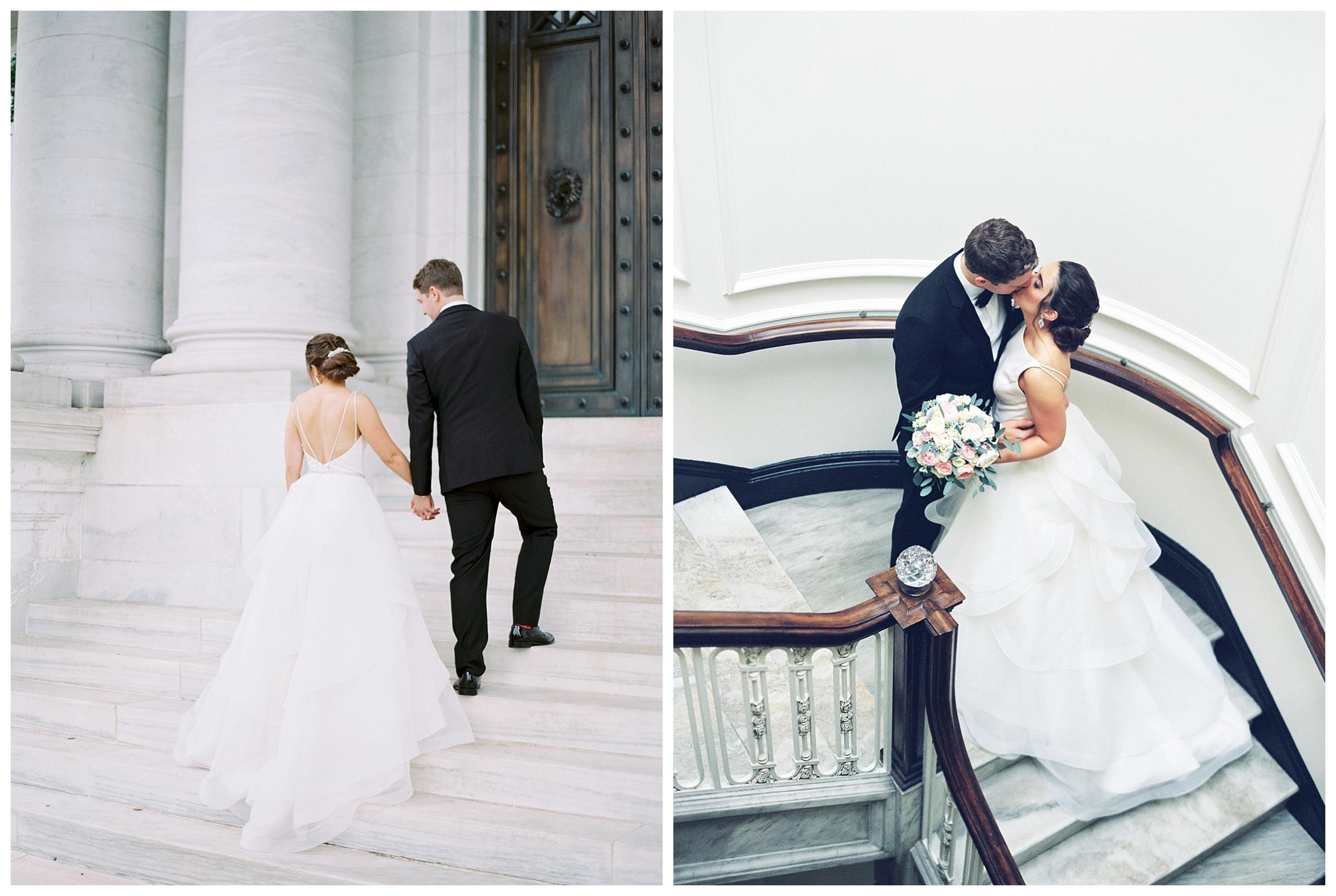 DAR Constitution Hall Wedding Wedding | Daughters of the American Revolution Wedding | District of Columbia Film Wedding Photographer Kir Tuben_0120.jpg