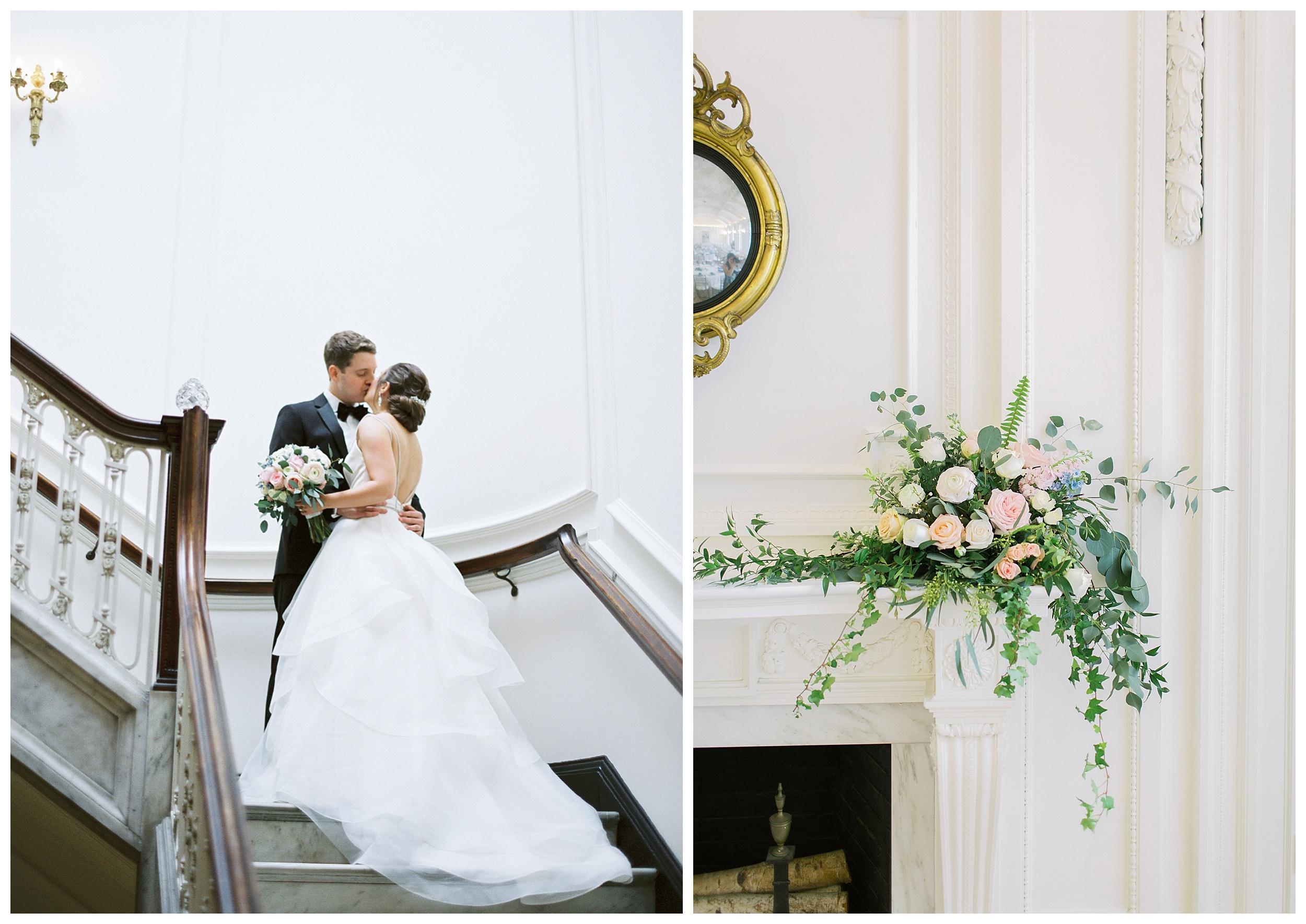 DAR Constitution Hall Wedding Wedding | Daughters of the American Revolution Wedding | District of Columbia Film Wedding Photographer Kir Tuben_0123.jpg