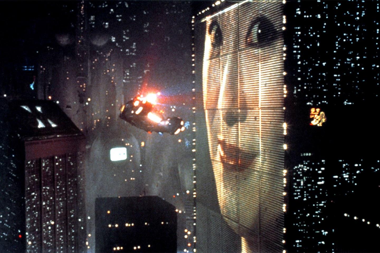Cảnh phim huyền thoại thiết lập mỹ cảm của Cyberpunk Nguồn Blade runner Ridley Scott 1982
