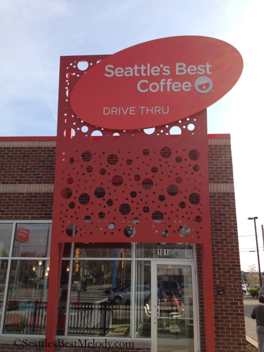 2  - 4 - Front of Seattles Best Coffee drive thru