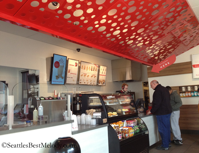 2 - 7 - 12 Seattles Best Coffee drive thru interior