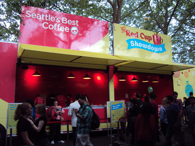 Seattle's Best Red Cup Truck Sampling Event 20July2012 - 5155