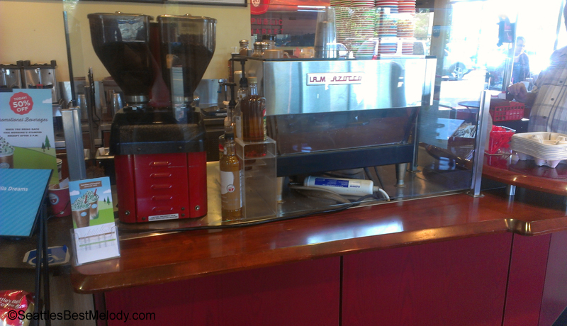 IMAG5763 La Marzocco at the Irvine Seattle's Best Coffee June 2013