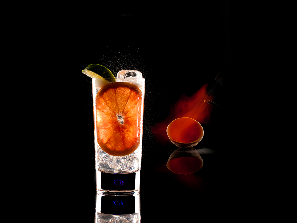 Grapefruit & Fire by Igor Zukowiec, Mixologist NYC