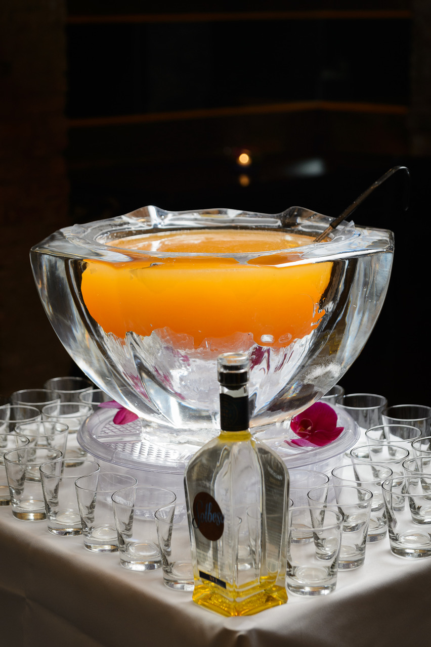 Ice-Made Punch Bowls.