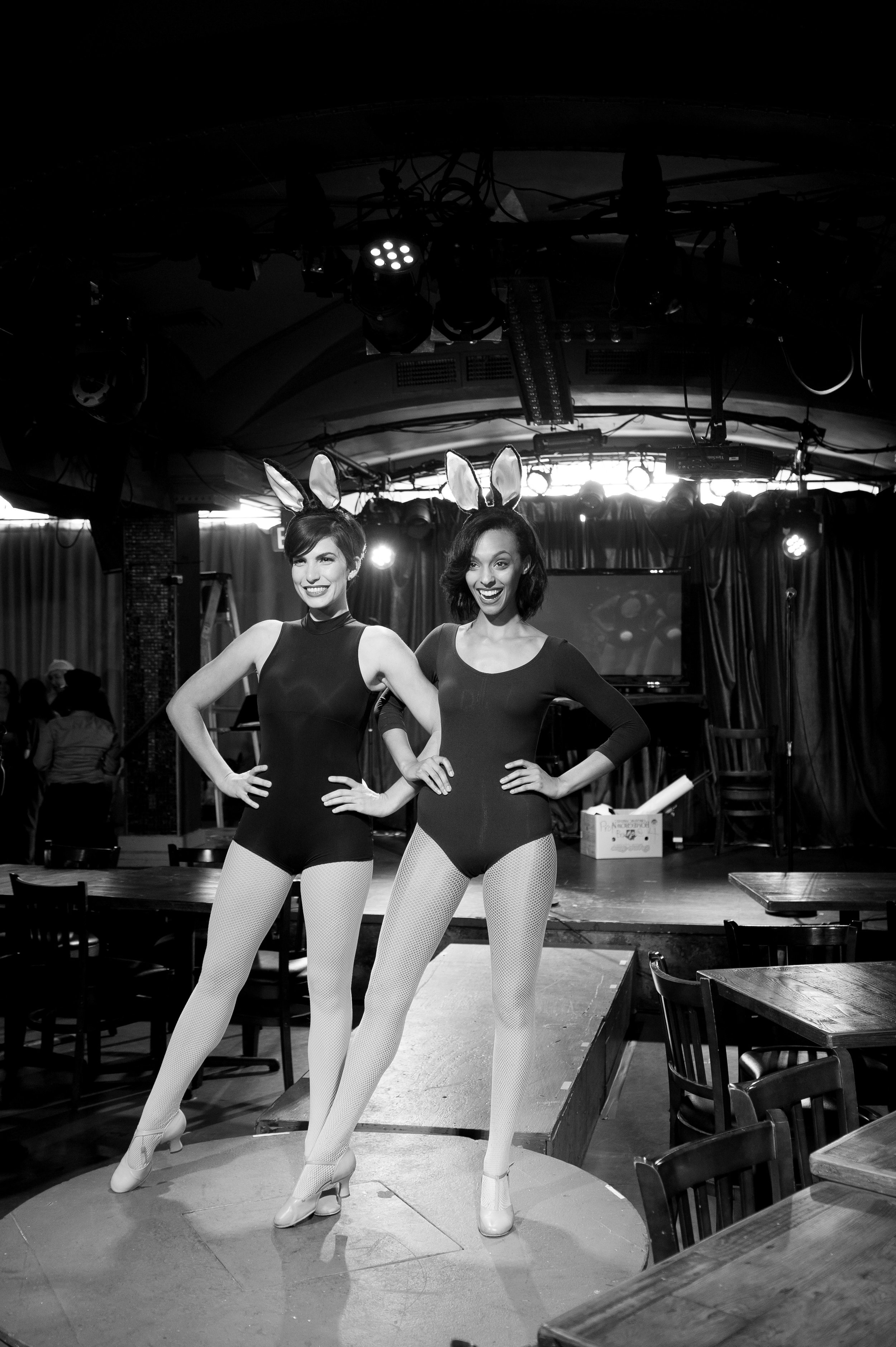 Gilli Messer & Caitlainne Gurreri as Two Women With Bunny Ears (2016)