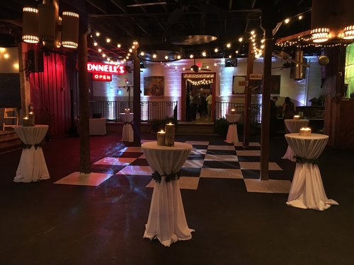 PRIVATE EVENTS AM Booths Lumberyard