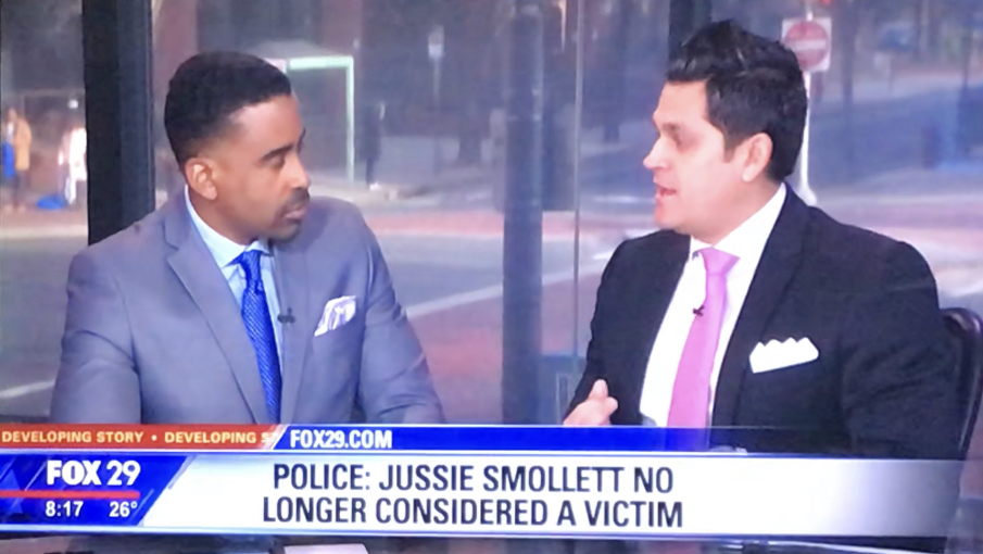 Fox 29 Legal Commentary  Jussie Smollett 2-17-19