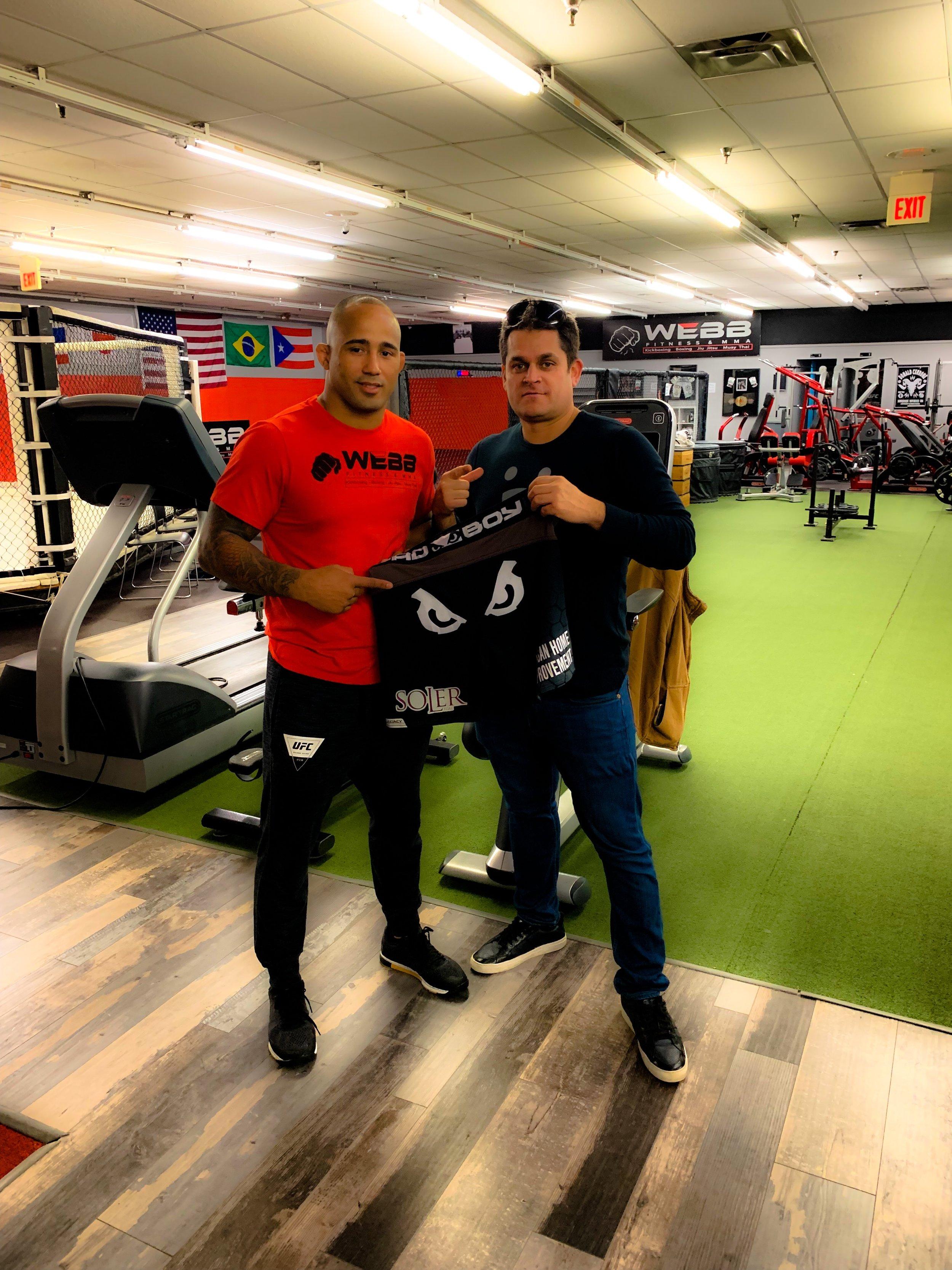 """MMA Star Jonavin """"Spyder"""" Webb"""