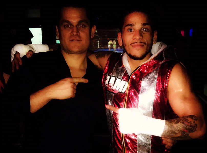 "MMA Fighter Eddy ""Taino Warrior) Torres"