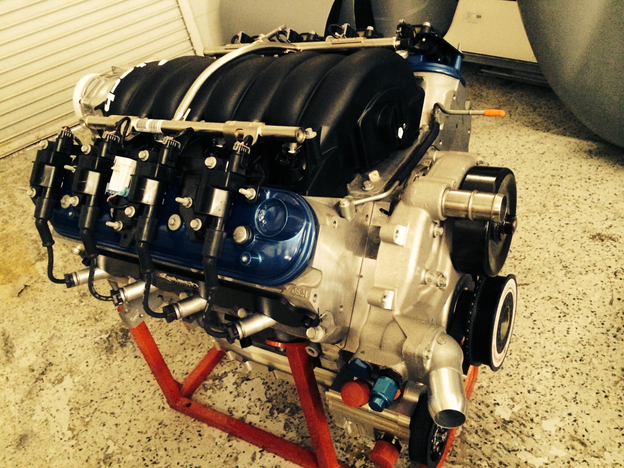 Katech LS3 sealed race engine for Superlite Aero