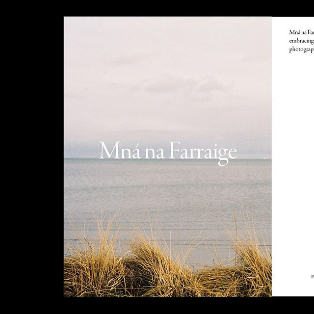 "Archive // Mná na Farraige - shot by @racheloughrey | styling @celinefleur_ for Cove Issue 2 ""Failure"" 🌊"