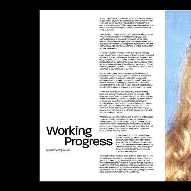 Archive // With our theme for Issue 2 tackling Failure, writer @lydia17rose discussed her myriad jobs which took her off the beaten track of most 20 somethings. A refreshing look at the increasing realisation that diverging from career norms and choosing a path best suited to you is far from failing! ✨ Read in full at covemag.com
