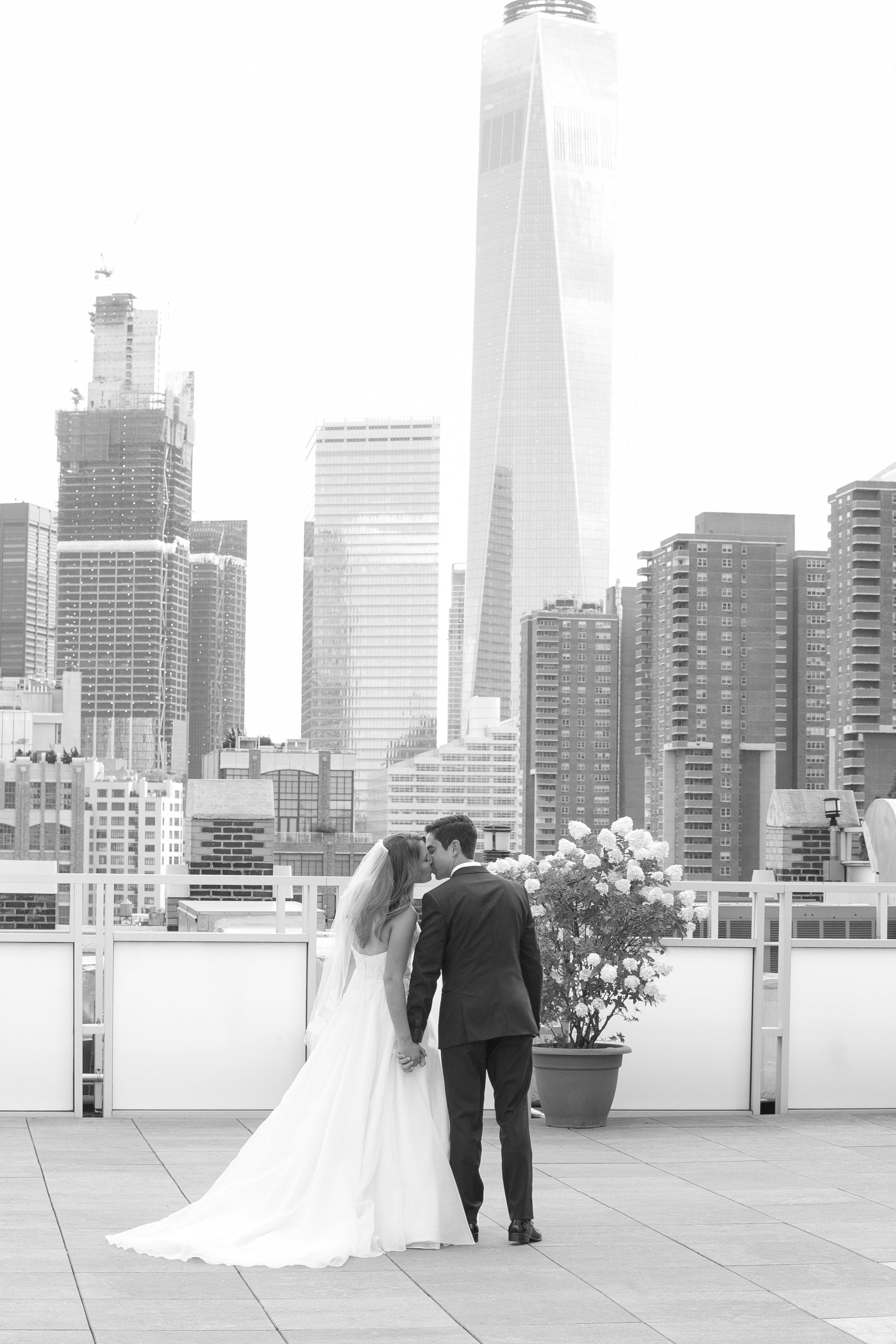 Allie & Matt | Tribeca Rooftop | New York