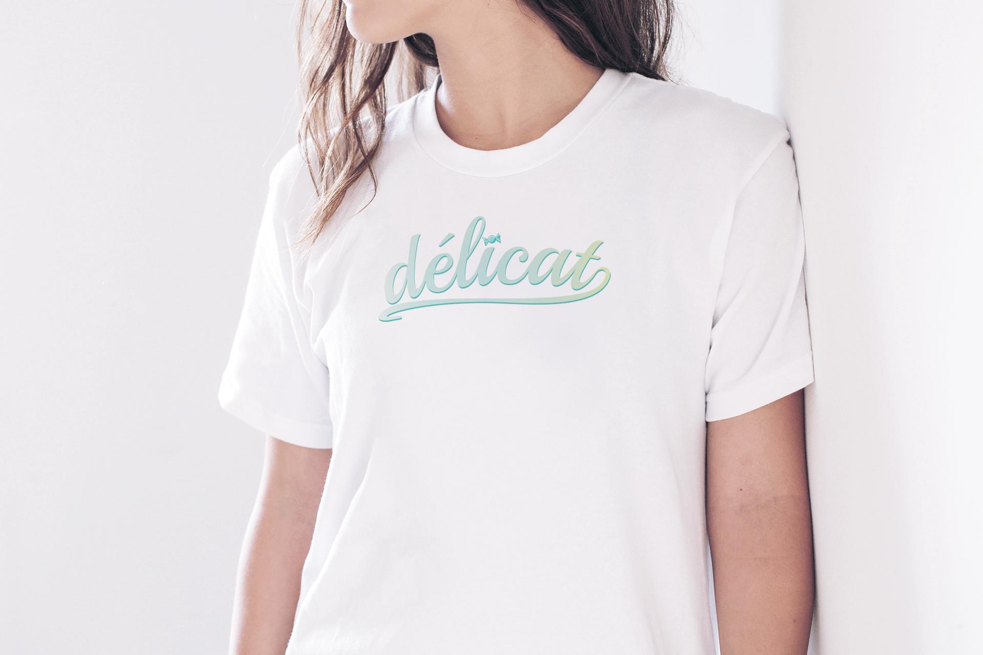Free Girl T-Shirt Logo Branding Mock-up Psd.jpg