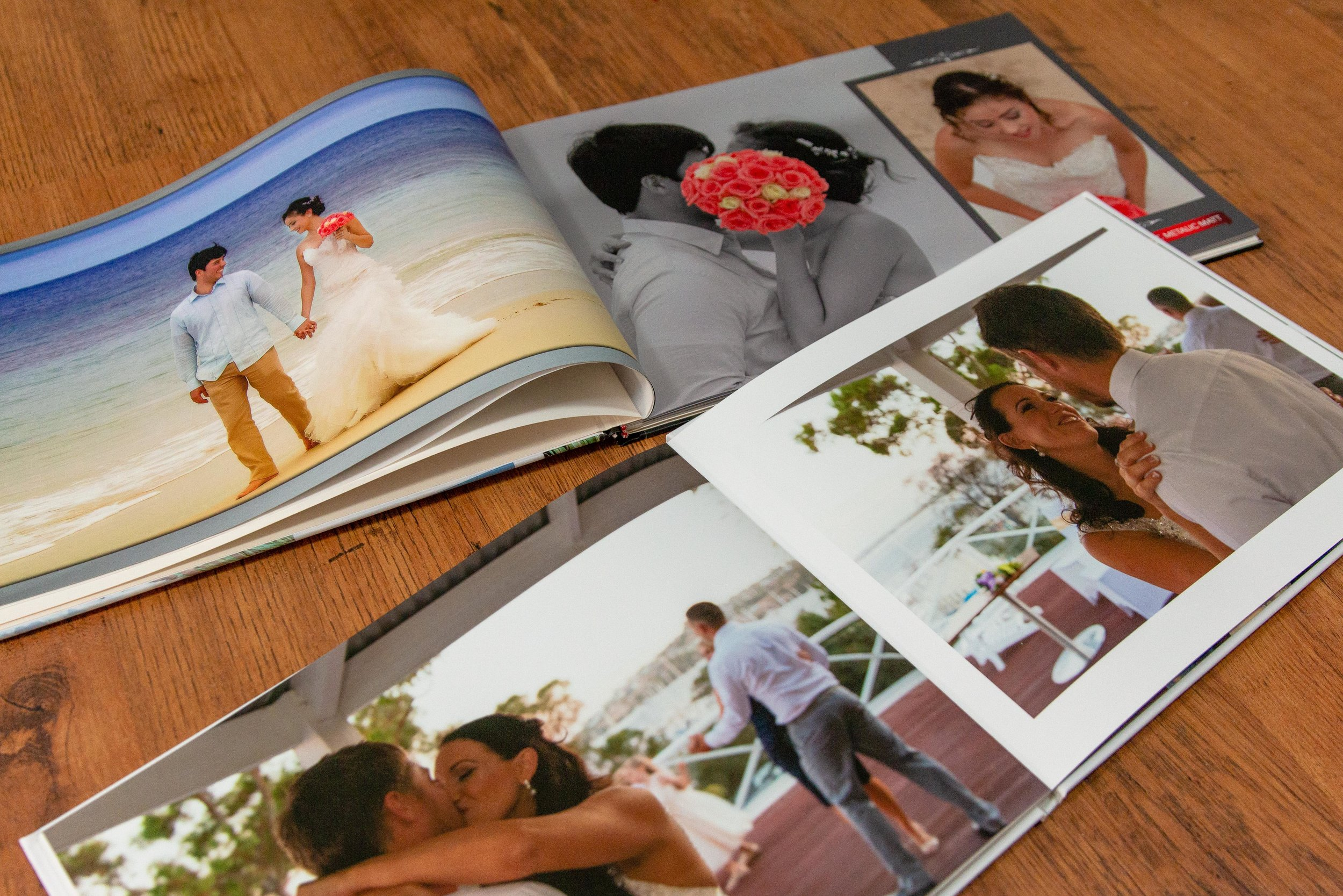 Gold package includes free photo album and large canvas print