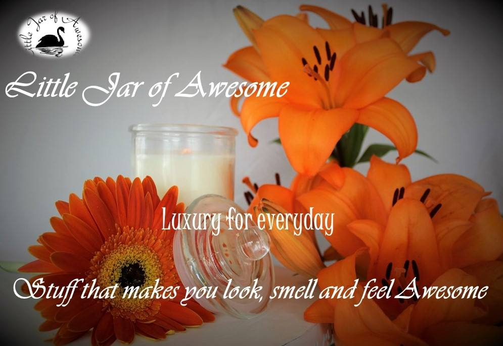 Little Jar of Awesome wants you to have a little luxury for every day. Our products are all hand made.