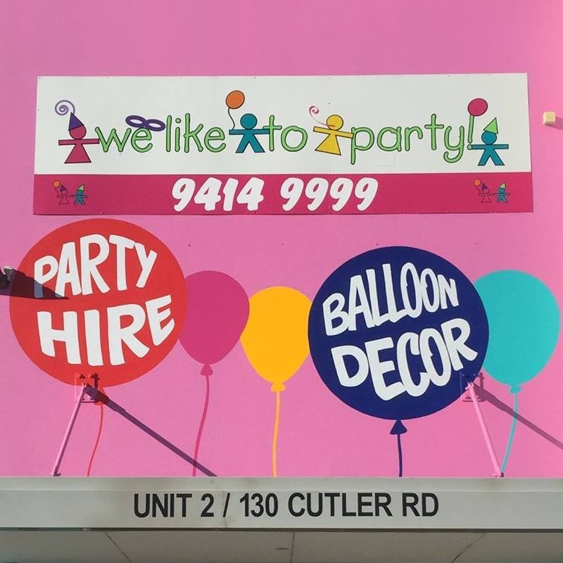 We Like To Party are a Western Australian family owned business and have helped thousands of customers plan their parties, special occasions, weddings and corporate events. Specialising in premium quality balloons and balloon decorating, they have WA's first Certified Balloon Artist on staff, providing excellence in creative balloon design.
