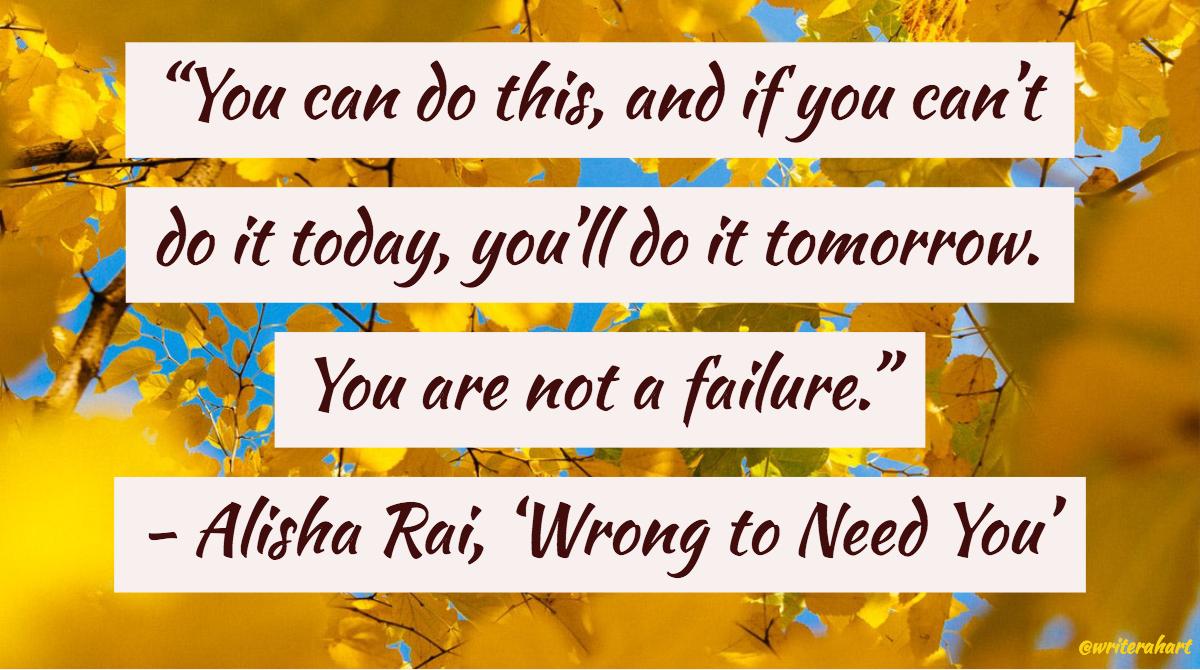 alisha rai quote