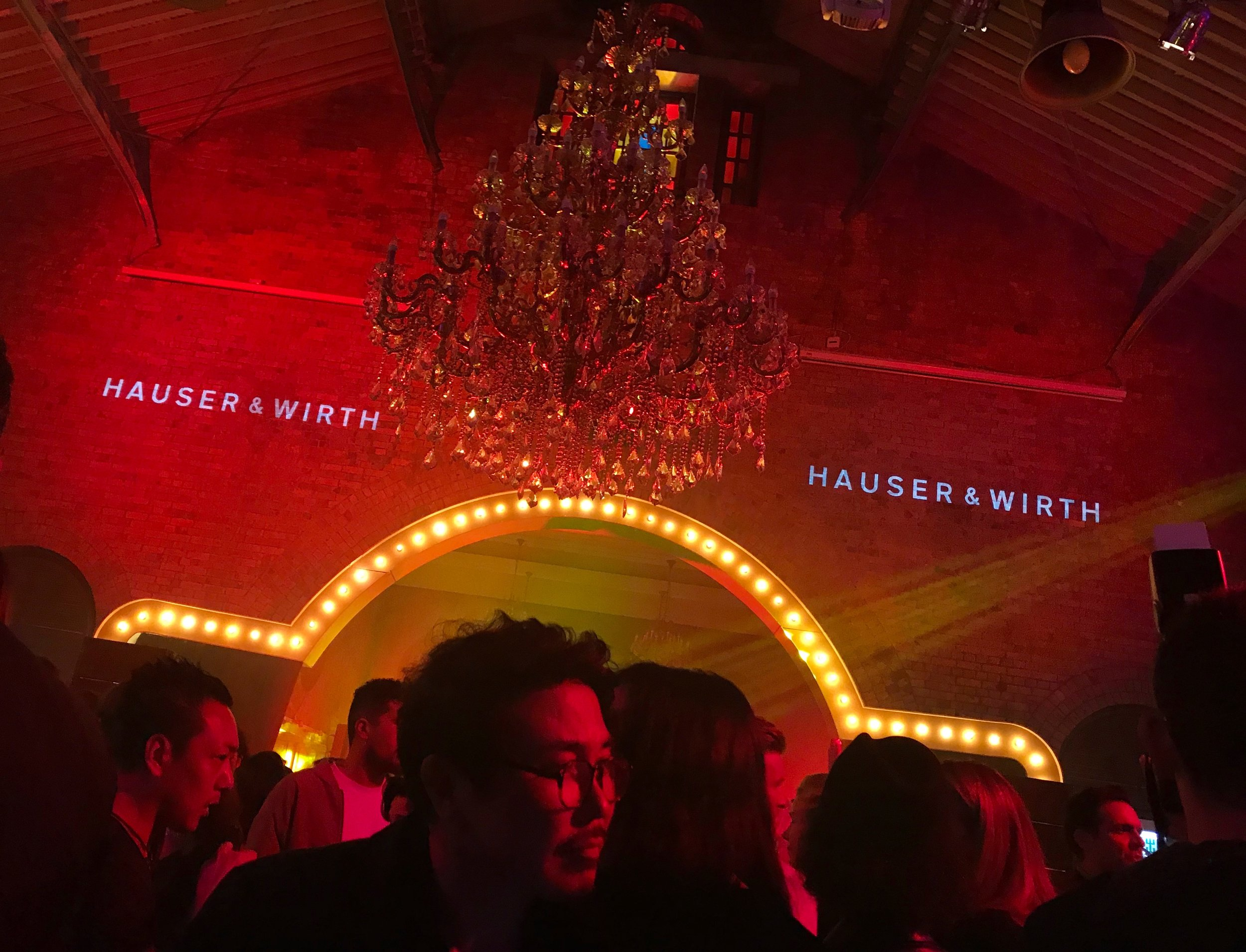 Hauser & Wirth's Hong Kong gallery VIP launch party