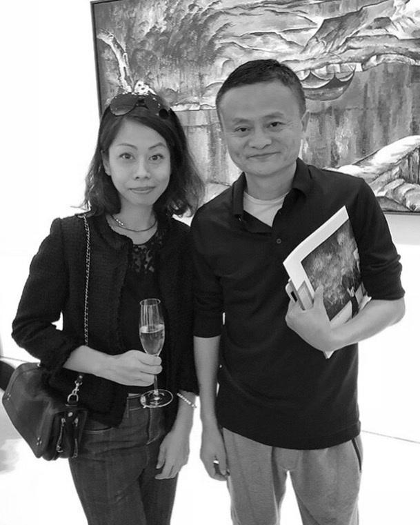 Helen Homan Wu and Jack Ma, Chairman of Alibaba Group Holding Ltd.  Curagenda's Shanghai & Hong Kong VIP Trip