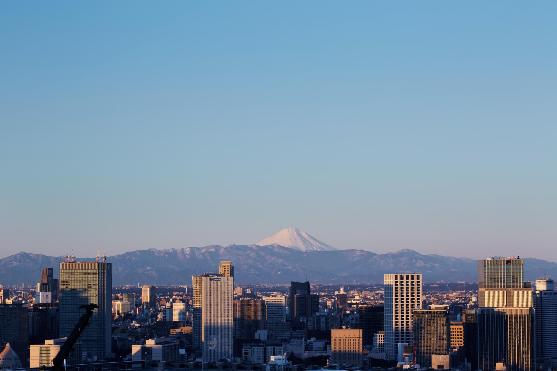 Aman Tokyo, Japan - Views Across Tokyo Skyline, Mount Fuji_Office_691.jpg