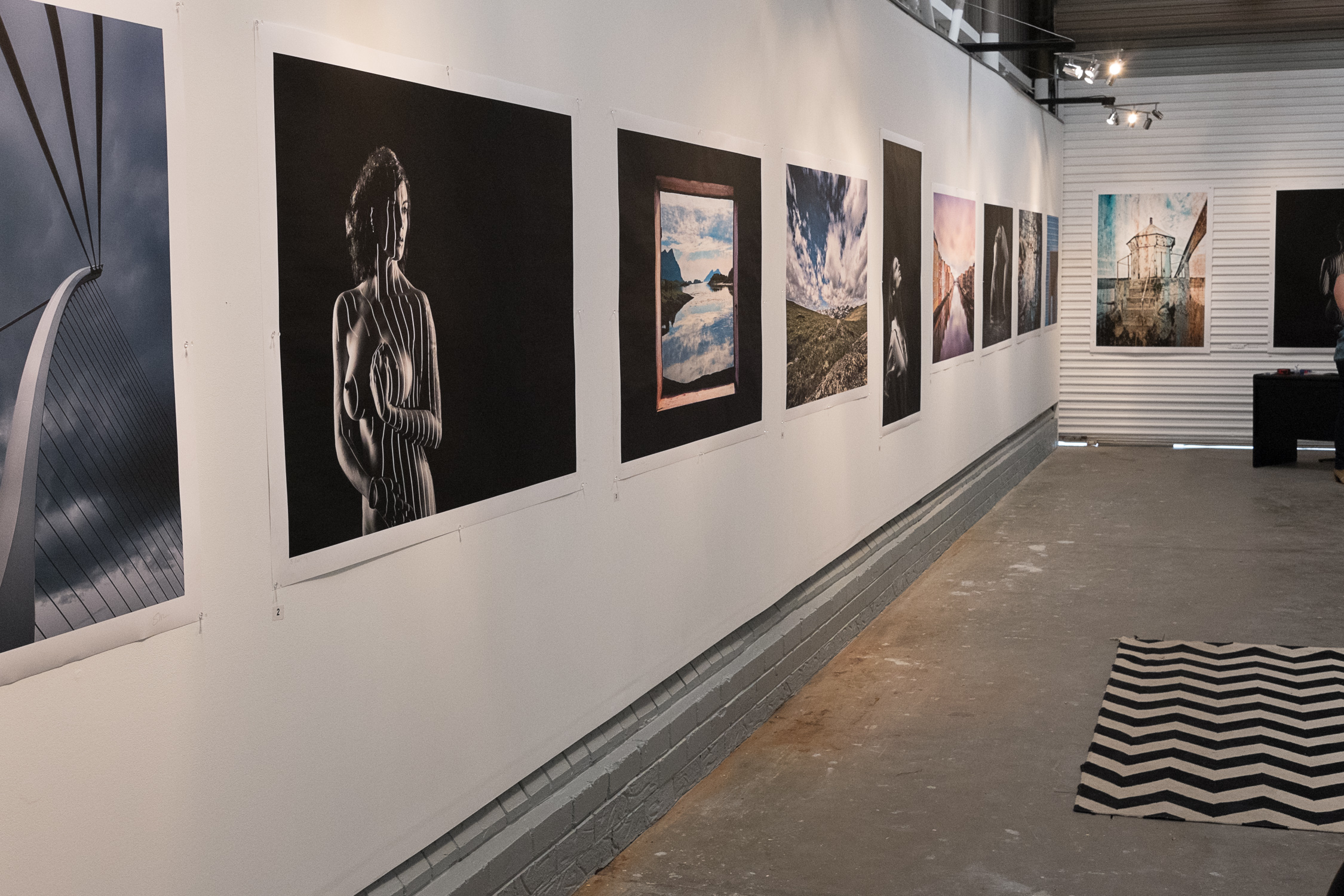 Installation view gallery 2017