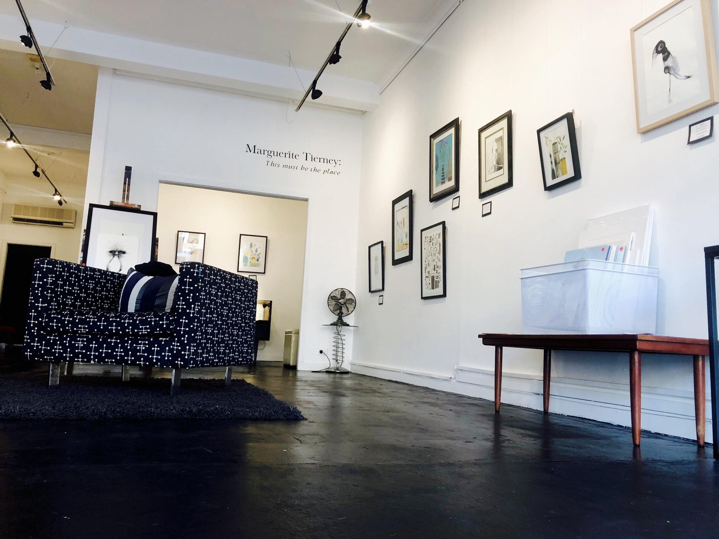 first exhibition at Blackstone Gallery, March 2019