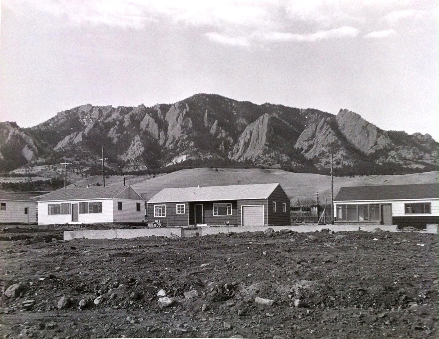 Homes in the Martin Acres Neighborhood in Boulder, CO,Circa 1950s
