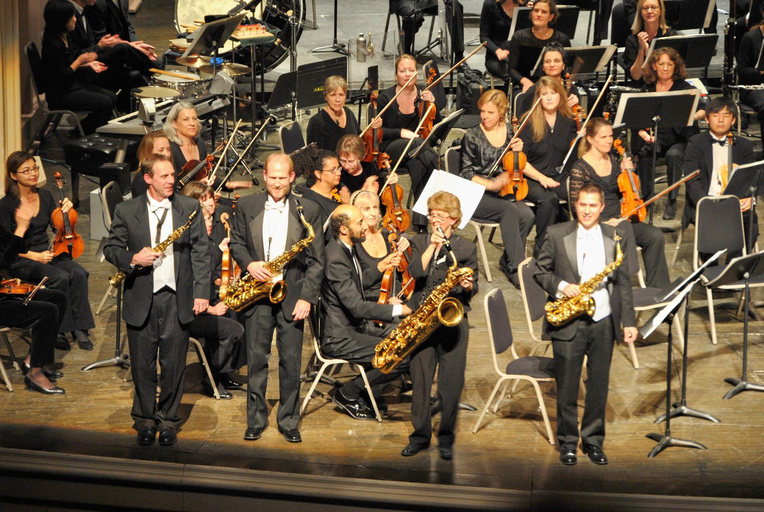 Colorado Saxophone Quartet with the Boulder Philharmonic Orchestra