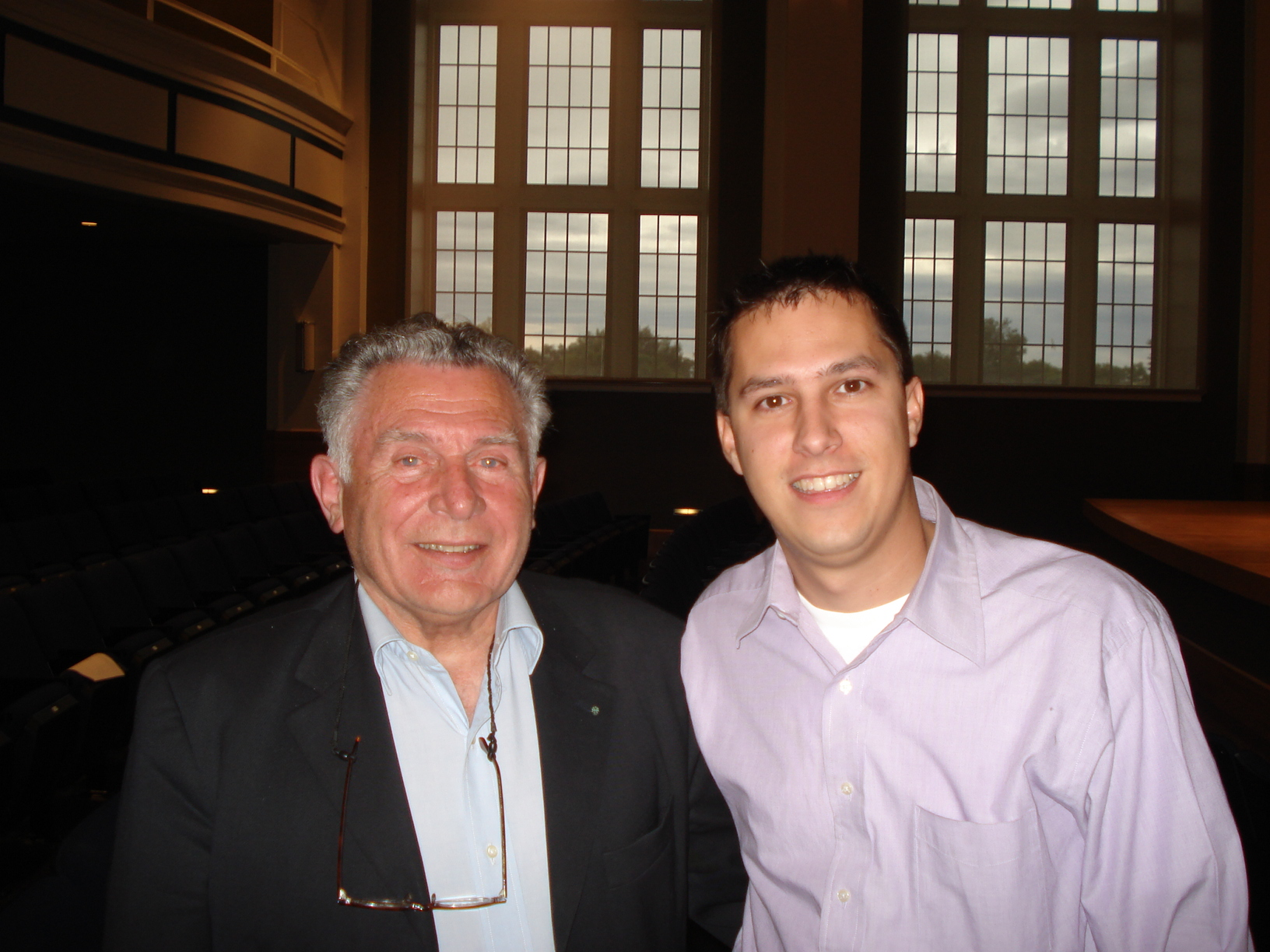 Me with Jean-Marie Londeix