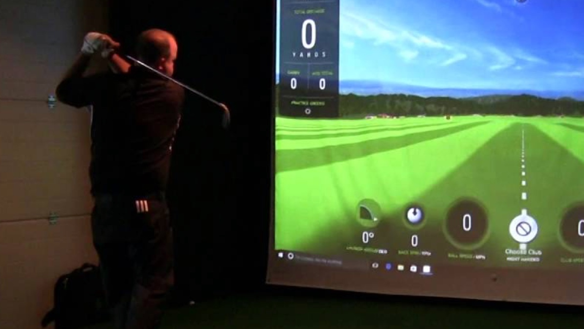AR GOLF Launch Simulator Experience - Client Work