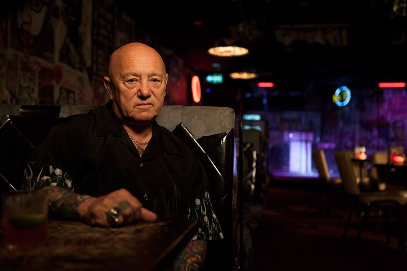 ANGRY ANDERSON of ROSE TATTOO