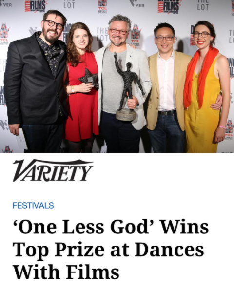 ONE LESS GOD (award-winning feature)