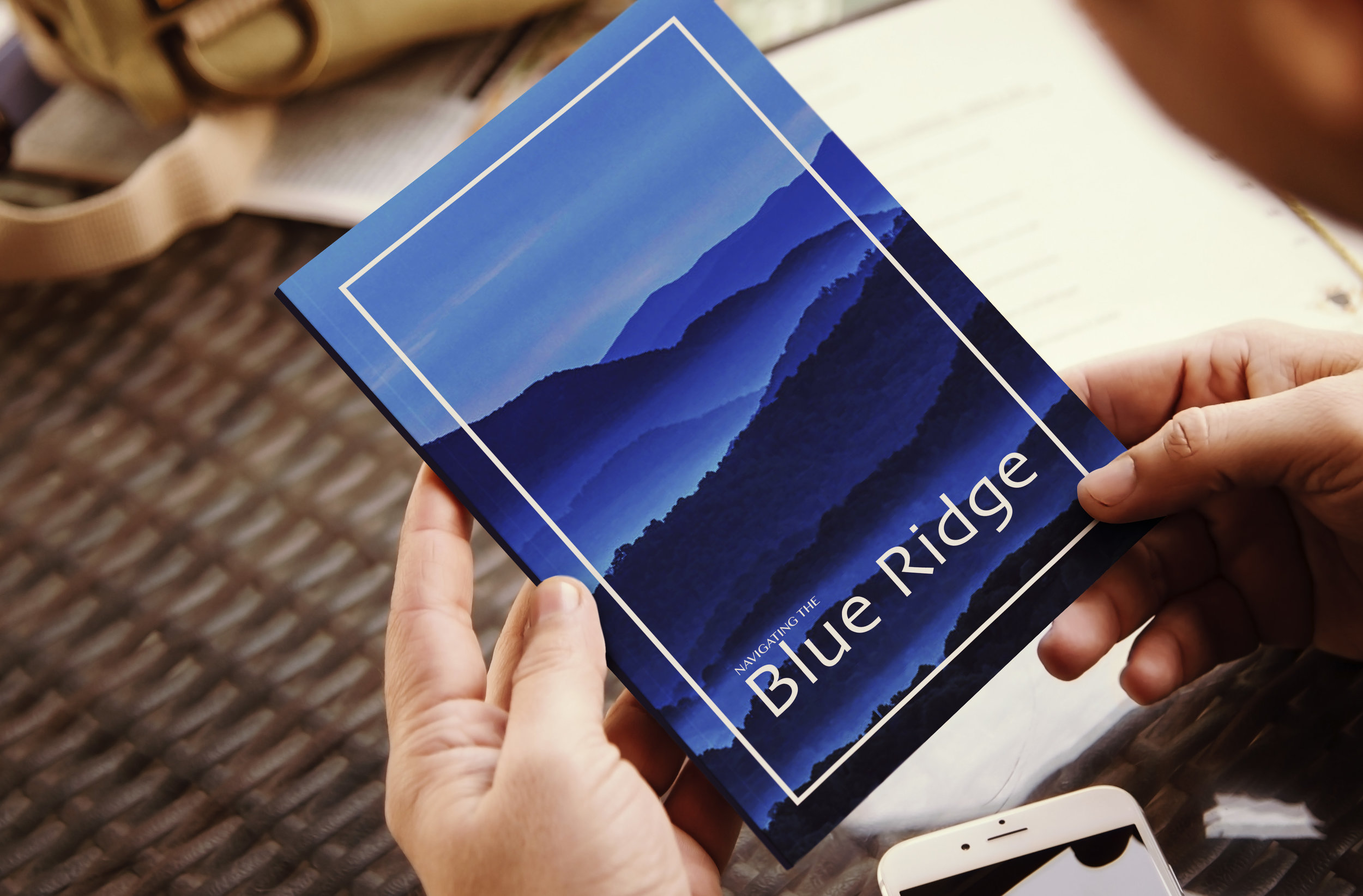 Blue Ridge Mountains Visitors' Guide. Art Direction and Layout Design. Photography from Adobe Stock.