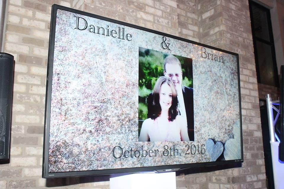 Mobile Dj company Staten Island 4k tv display