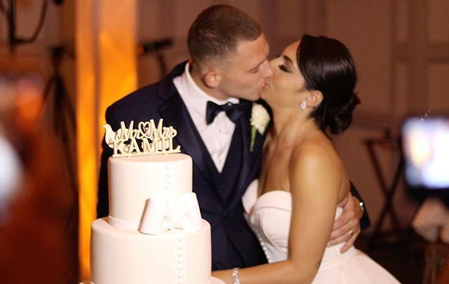 Congratulations to the new Mr. and Mrs. Kamil. We wish you both years of happiness and good luck on your new journey as husband and wife. • • • • •  #KamuFeelTheLove #WeddingDjs #ThinkDifferentlyBeUnique #BeUnique #Wedding #TheKnot #WeddingWire #WeddingWireRated #Love #MrAndMrs #StatenIsland #NewJersey #HappilyEverAfter #Party #iDo #NewlyWeds #WeddingCake #WeddingRing #StatenIslandBrides #newyorkbrides