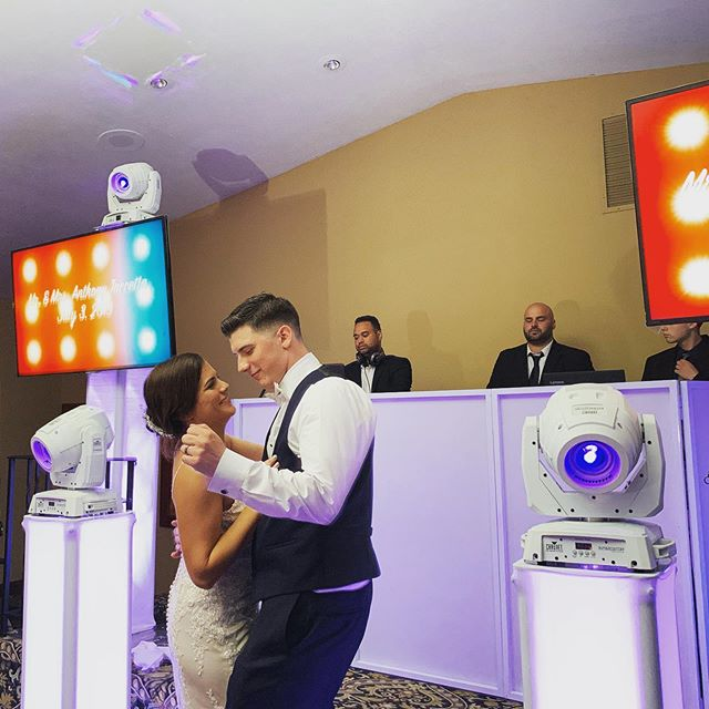 Last night was one for the books celebrating the new Mr. and Mrs. Anthony Taccetta! We wish you both a lifetime of happiness. • • • • •  #ForTaccettaOrForWorse  #WeddingDjs #ThinkDifferentlyBeUnique #BeUnique #Wedding #TheKnot #WeddingWire #WeddingWireRated #Love #MrAndMrs #StatenIsland #NewJersey #HappilyEverAfter #Party #iDo #NewlyWeds #WeddingCake #WeddingRing #PennsylvaniaWeddings #StatenIslandBrides