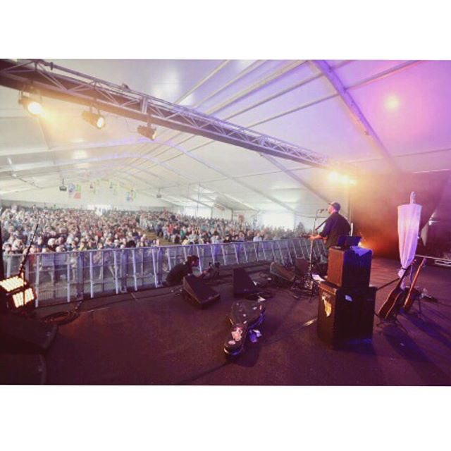 BAM! Thankyou @portfairyfolkfestival for a wonderful start to the festival. Stage 2 you were beautiful. Photo by Legend and Myth @davidharrisphotography. David is featured in pic 2 - Love that guy!