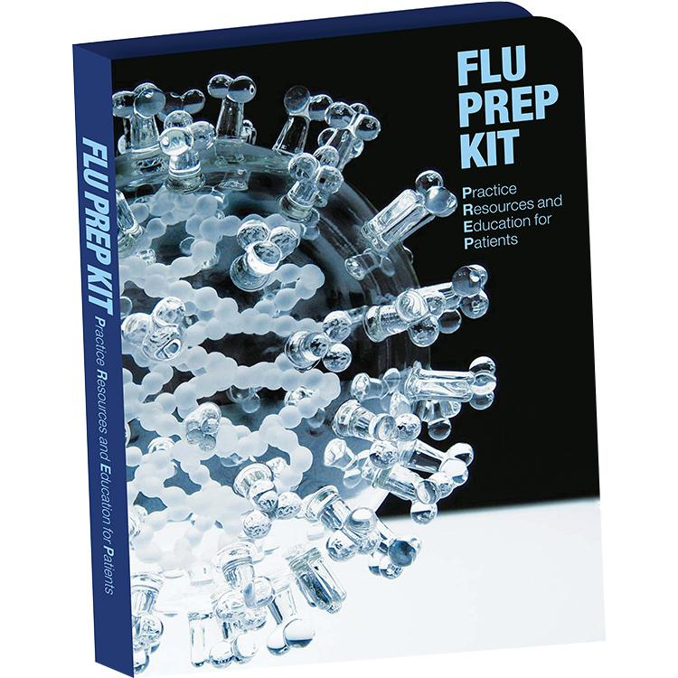 Unbranded flu prep kit nurse support for doctors office