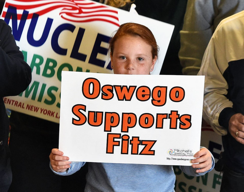 Town of Oswego rallied to save Fitzpatrick nuclear plant after most everyone else had given it up as dead.