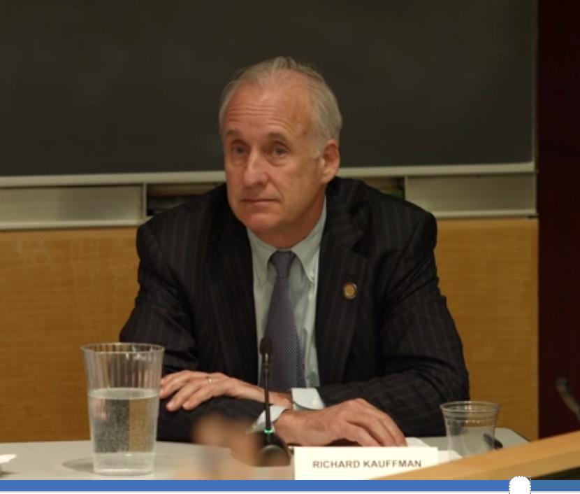 Gov. Cuomo energy czar Richard Kauffman responding to Environmental Progress' Cesar Penafiel