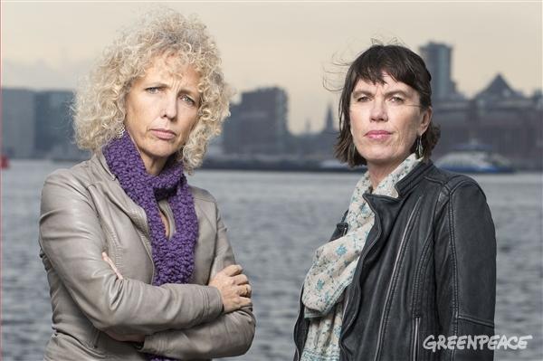 Greenpeace's new Executive Directors: Jennifer Morgan and Bunny McDiarmid